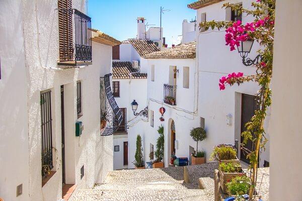 altea stad - costa blanca - spaanse droomhuizen