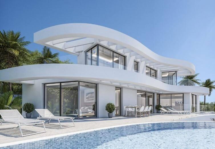 zelf huis bouwen in spanje - villa in javea - spaanse droomhuizen