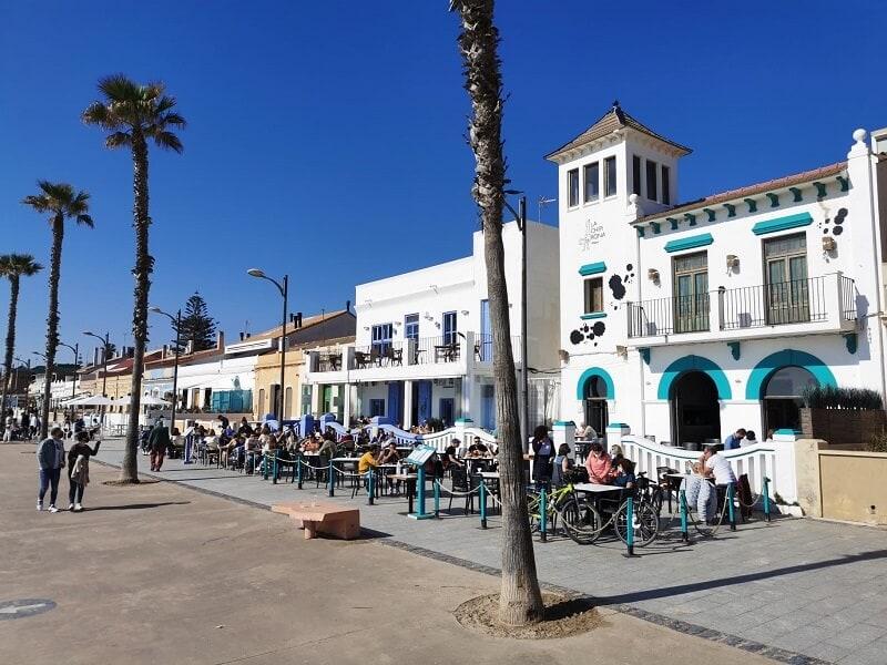 situatie in spanje - terrassen geopend - positieve berichten