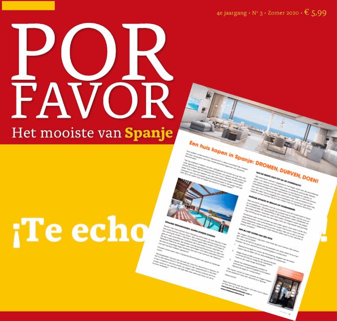Por Favor Magazine - interview met Spaanse Droomhuizen