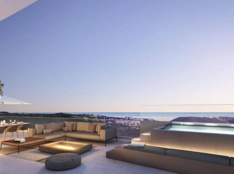 appartement kopen mijas costa - penthouse kopen mijas - spaanse droomhuizen